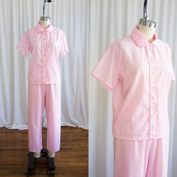 Sister Sister pajamas set | vintage 60s pajamas |