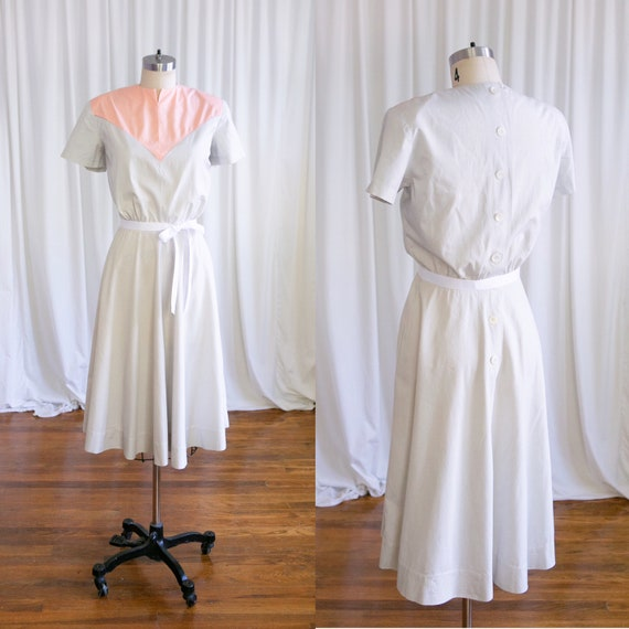 Showdown dress | vintage 40s dress | 1940s color b