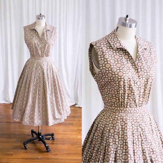 Winston dress | vintage 50s blouse & skirt set | 1