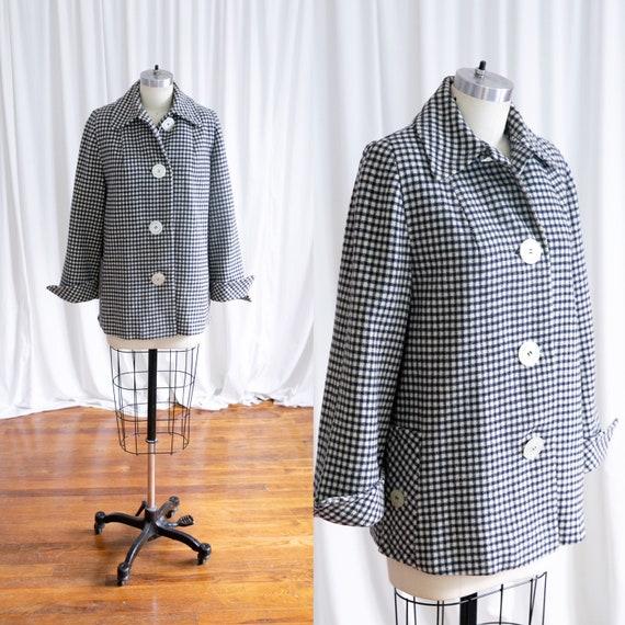 Edworth jacket   vintage 40s jacket   1940s plaid