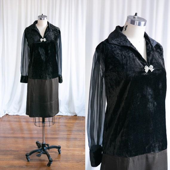 Fates Allow dress   vintage 20s dress   1920s blac