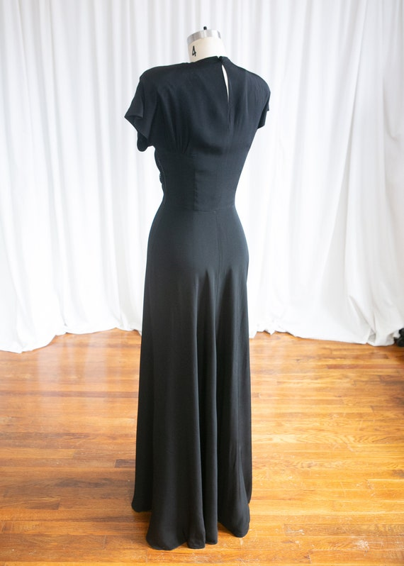 Wish Upon A Star gown | vintage 40s evening gown … - image 8