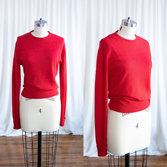 Lorna sweater | vintage 50s pullover sweater | 195