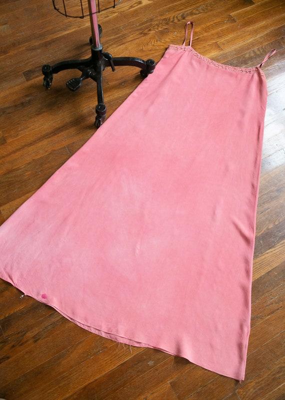Sweet Rose dress   vintage 30s dress   1930s pink… - image 7
