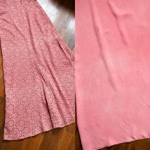 Sweet Rose dress   vintage 30s dress   1930s pink… - image 8