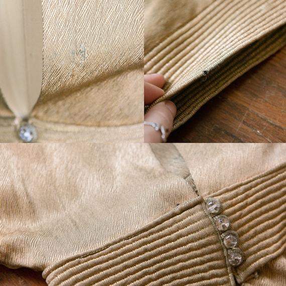 Selene gown | vintage 30s dress | 1930s gold lame… - image 10