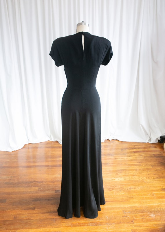 Wish Upon A Star gown | vintage 40s evening gown … - image 7