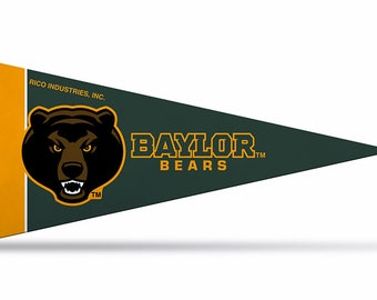 b3cc00f54 8-Pack Baylor Bears NCAA Mini Pennant, 4