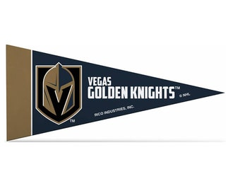 6e5b2734a46 Vegas Golden Knights Licensed NHL Mini Pennants