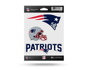 New England Patriots NFL 3 Pack Stickers