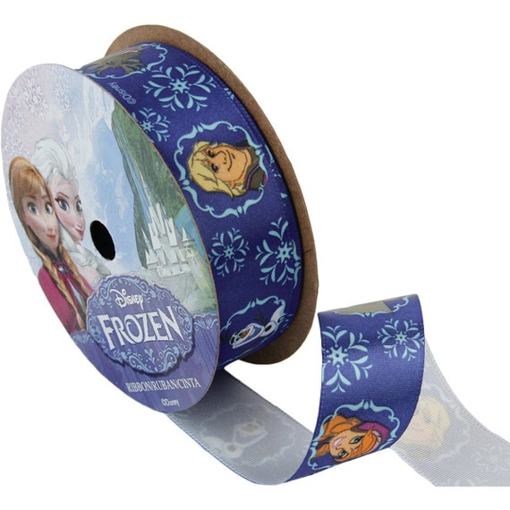 Offray Frozen Craft Ribbon, 7/8-Inch by 9-Feet, Pink Anna