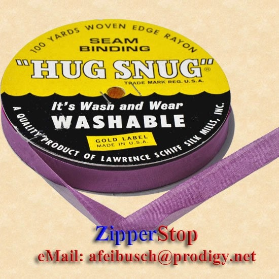 Hug Snug Seam Binding / American Beauty 410/ 100 Yard