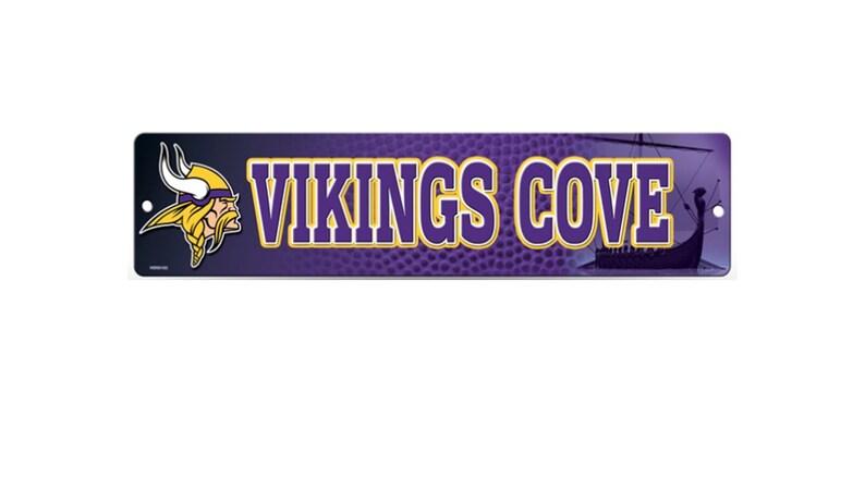 NFL Licensed Minnesota Vikings Ribbons /& Mini Pennants