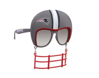 New England Patriots Sunglasses with Helmet and Mask