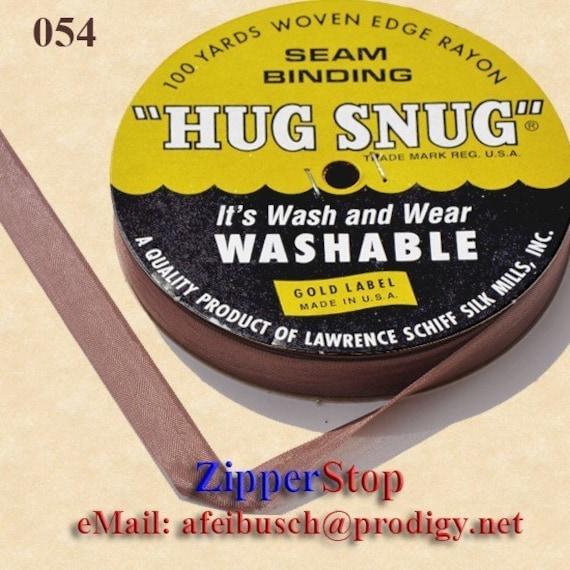 Schiff Hug Snug 100 Yard Spool Seam Binding Crafting Gabardine Green Blue