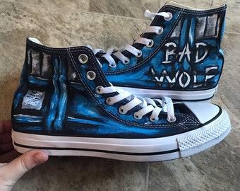 50e43e0155a9 Bad Wolf Converse. Because42CustomKicks
