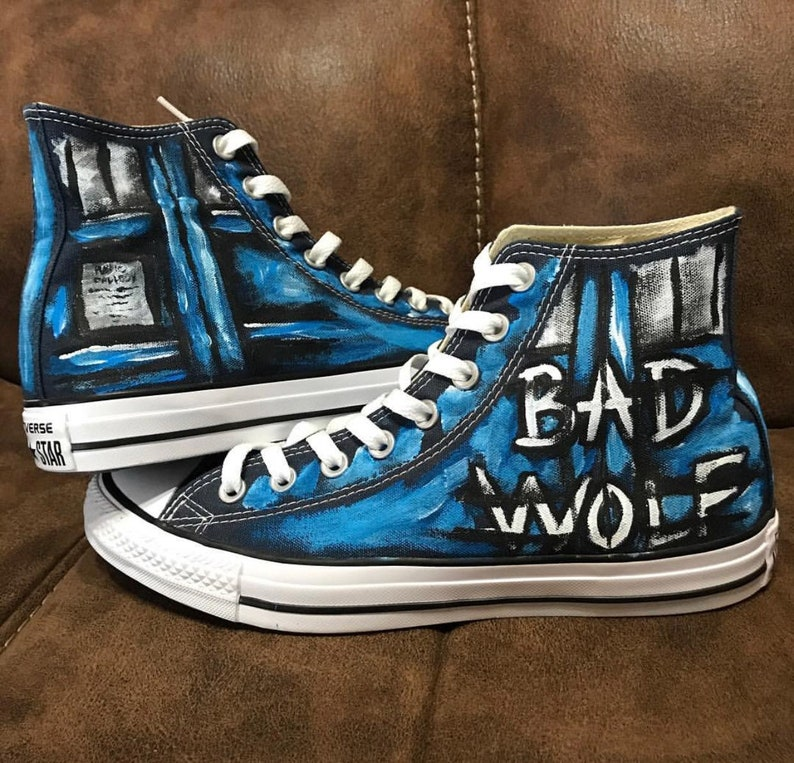 Bad Wolf Painted Shoes image 0