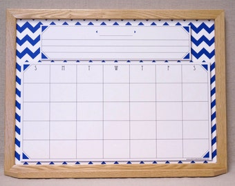 Large Dry Erase Calendar Etsy