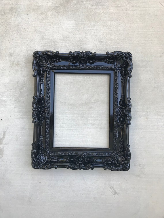 12x16 Black Frame Wall Mirror Frame for Canvas or Art Paint | Etsy