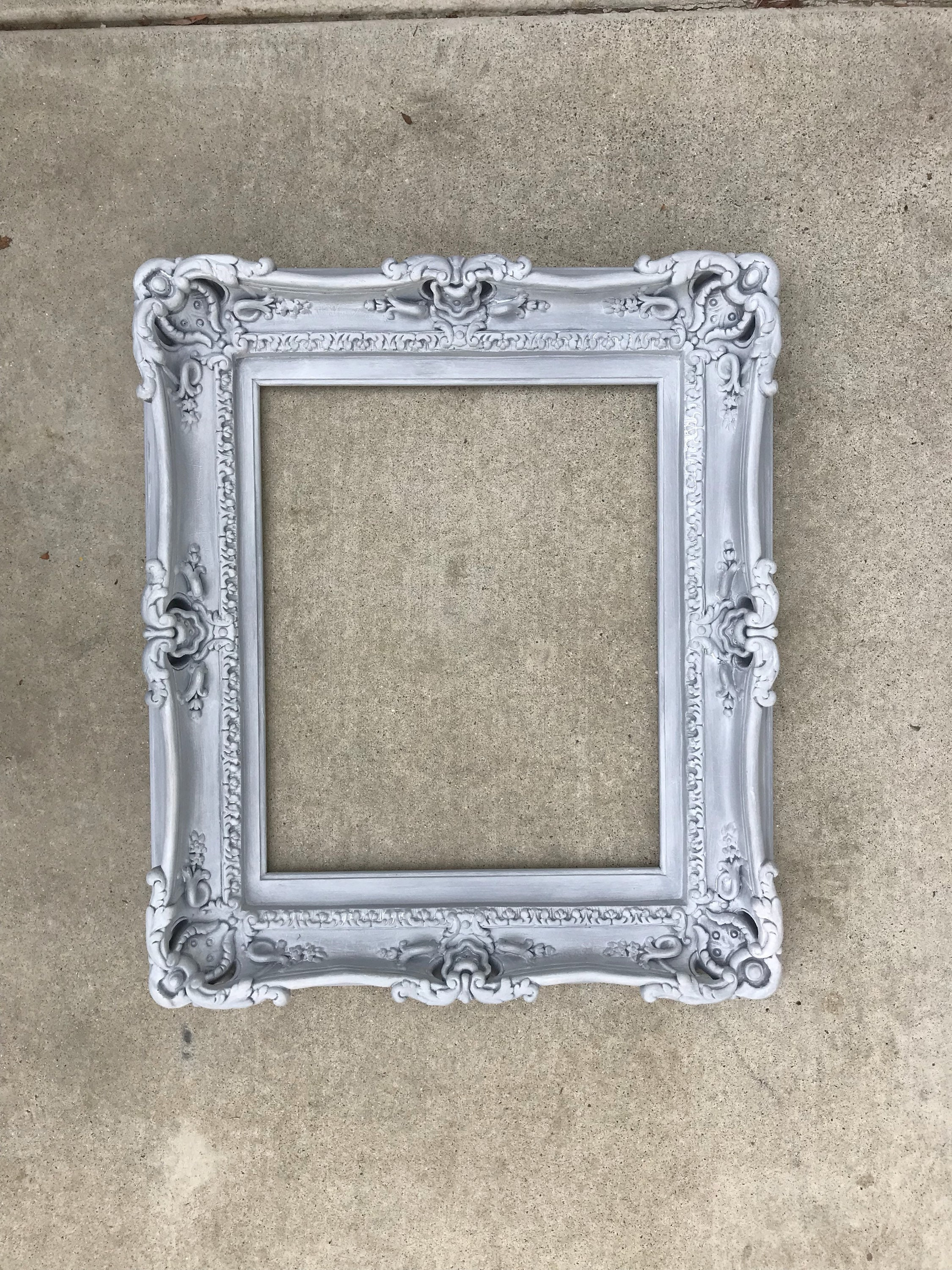 20x24 Vintage Shabby Chic Frames, Baroque Frame for Canvas, Large ...