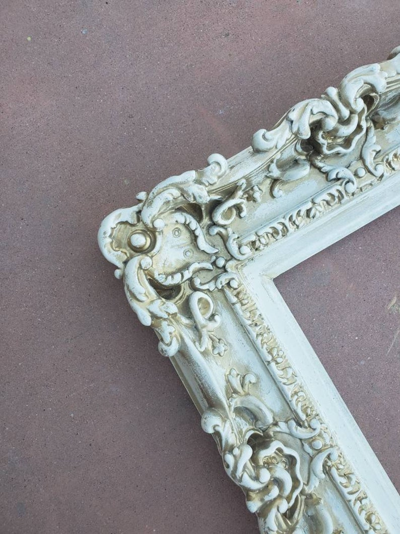 Art Wall frame Small Picture Frames Cottage Chic Frame 8x10 Vintage Frame Style Baroque Picture Frame