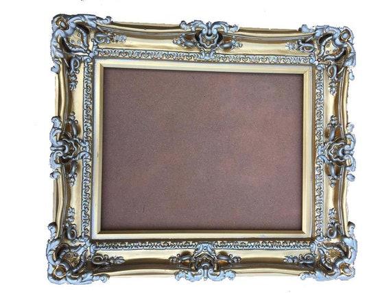16x20 Gold Chic Frames Baroque Frame For Canvas Frame For Etsy