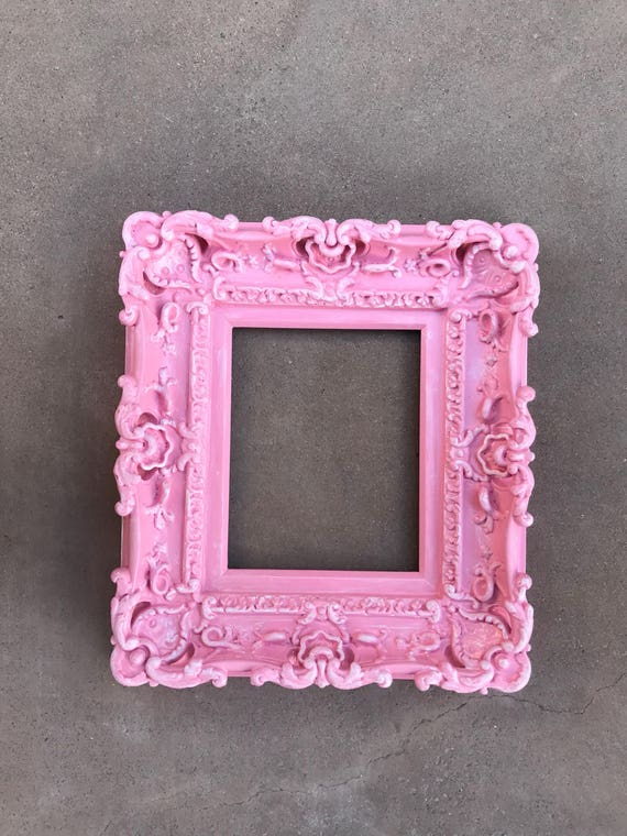 8x10 Shabby Chic Pink Frame Baroque Frame Wedding Frames