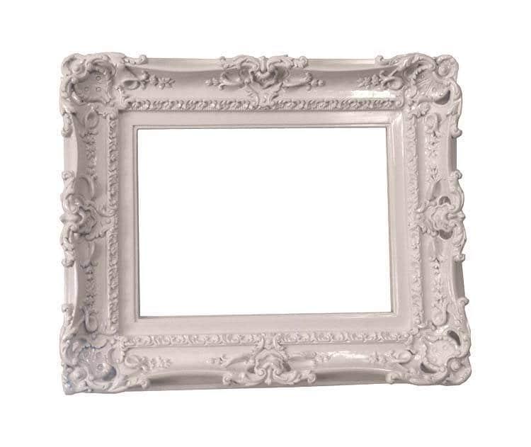 12x16 Shabby Chic Frame Decorative Baroque Wall Mirror Frame Etsy