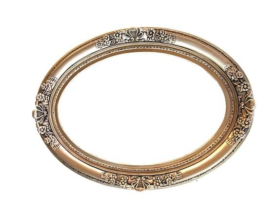 cadre ovale shabby chic cadre baroque cadres de mur fleuri mariage cadre miroir ovale encadre cadeau de mariage