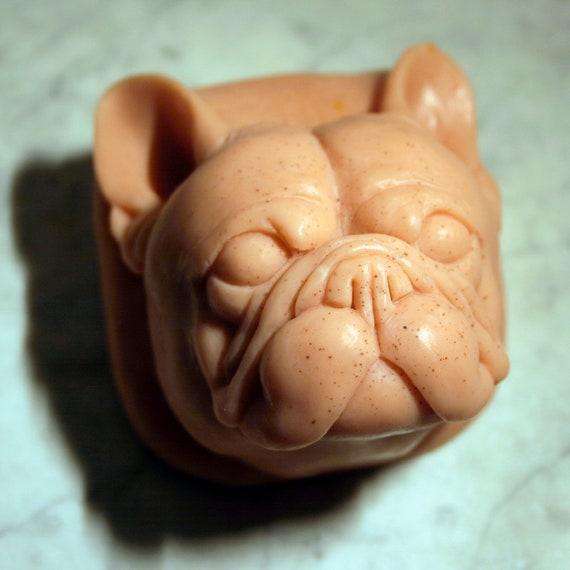 French Bulldog Vegan Soap