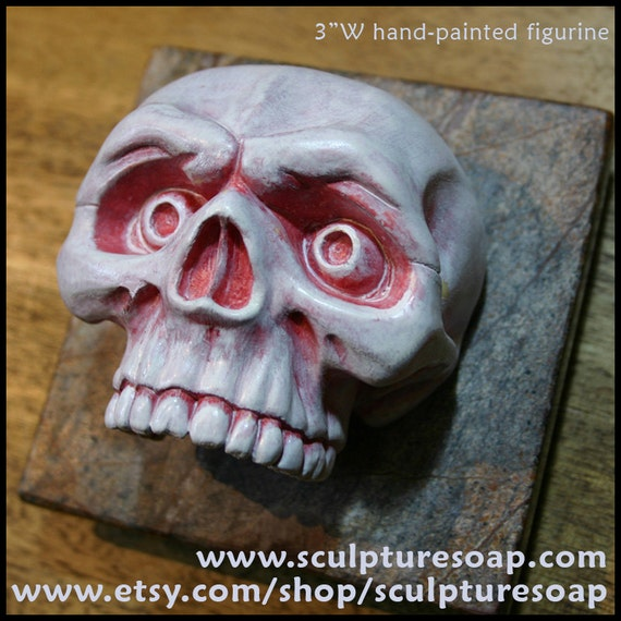 Skull Decorative Figurine (NEW)
