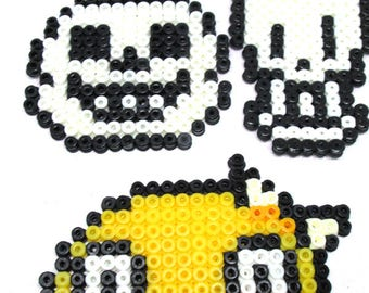 Video Game Hama: Sans, Papyrus, Monster Kid (Magnet / Ornament / Hair Clip / Earrings / Necklace)