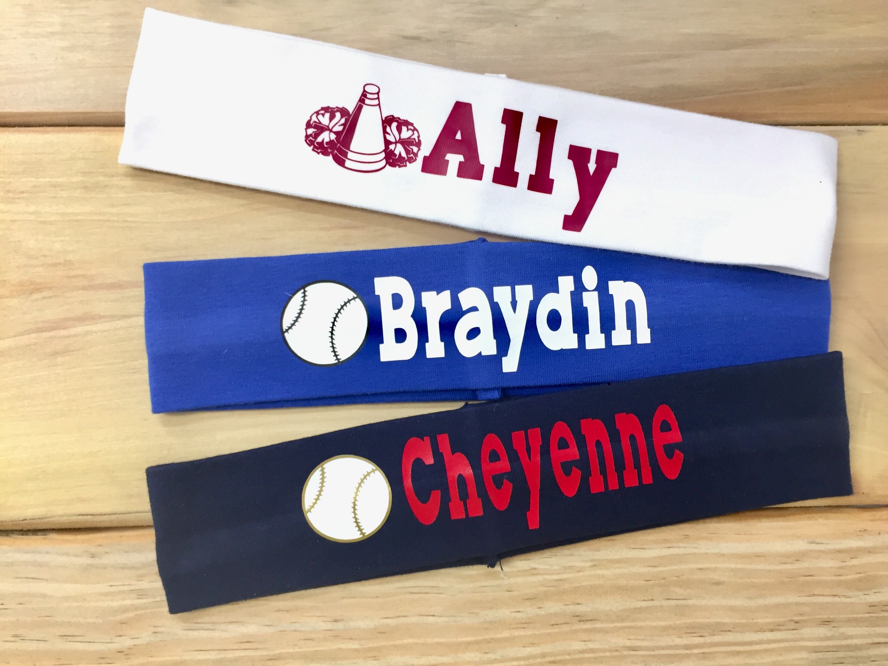 Personalized Sports Headband with Name  efd8e5cd26b