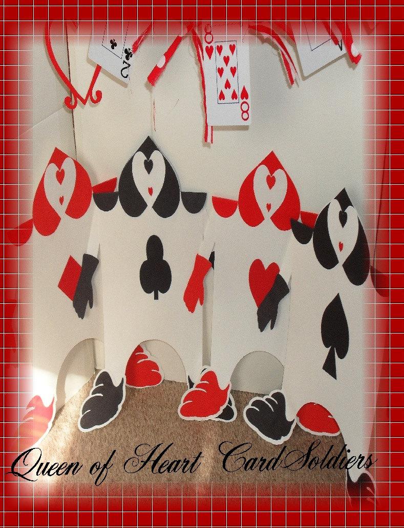 Alice In Wonderland Queen of Hearts Card Soldiers Within Alice In Wonderland Card Soldiers Template