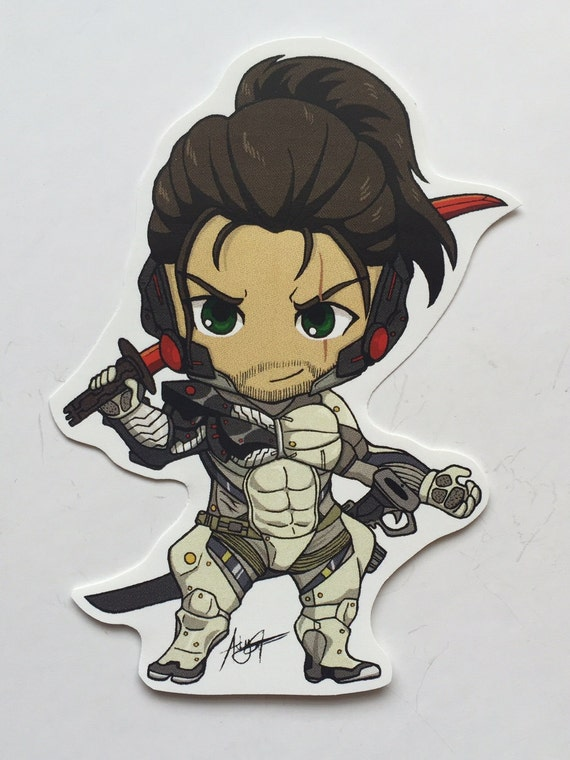 Metal Gear Rising Jetstream Sam Sticker Etsy