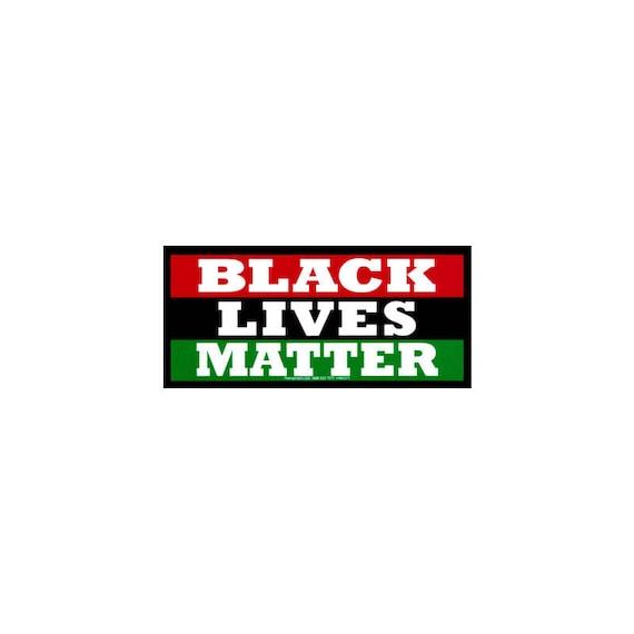 Black Lives Matter 4 Bumper Sticker