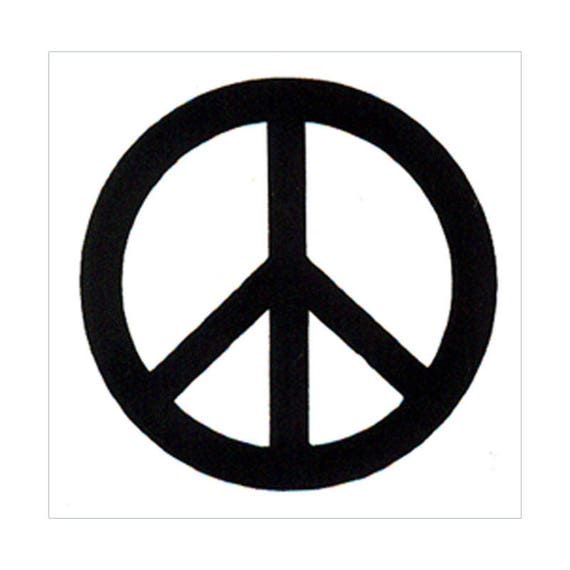Peace Sign Pouch Small S40