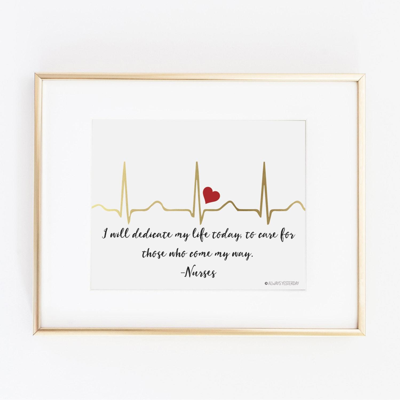 Gift For Nurse Nursing Student EKG I