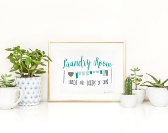 Laundry Sign   Laundry Room Sign   Sign For Laundry   Laundry Room   Laundry Room Decor  Laundry Room Art   Instant Download  Laundry Art