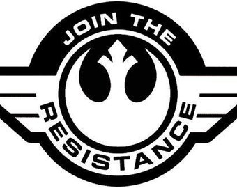 Join The Resistance Rebel Alliance!! Free Shipping