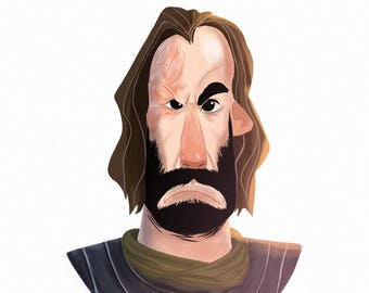 The Hound - GoT Animated Portrait