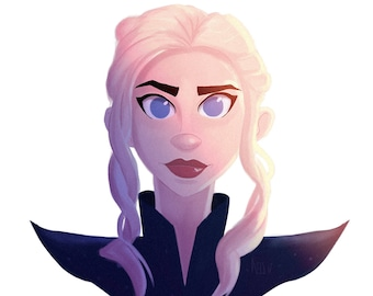 Daenerys - GoT Animated Portrait