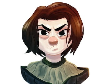 Arya Stark - GoT Animated Portrait