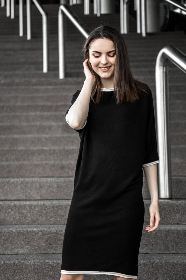 16963789f57 Plus Size Tunic Dress Plus Size Clothing Black Tunic Dress