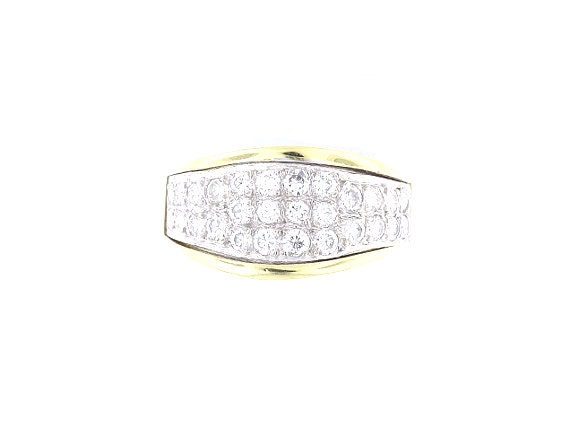 14K Yellow Gold 1.12 Carat Diamond Band Wedding Band Engagement Band Fashion Band Right Hand Band Promise Ring White Gold Rose Gold