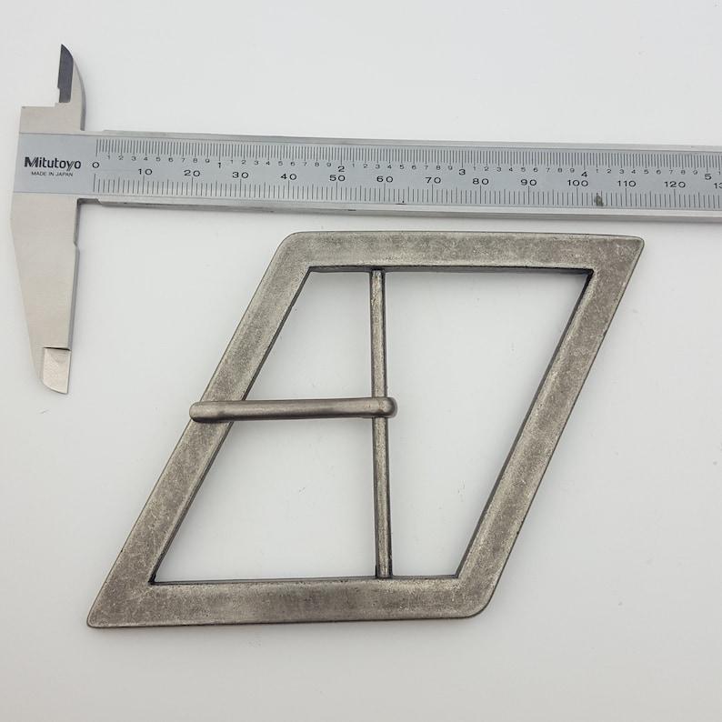 Unique Slanted shape Wide buckle