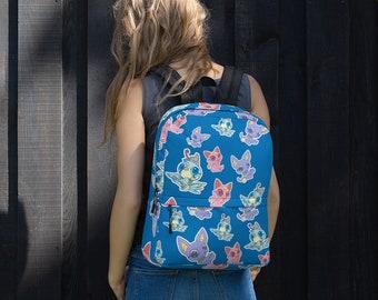 Chibi Gods BLUE Backpack