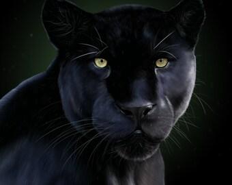 ArtPrints A4 - Big Cats Selection