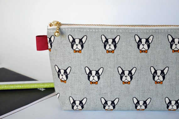 Huskie Husky 1 Canvas Coin Purse Retro Money Bag with Zip