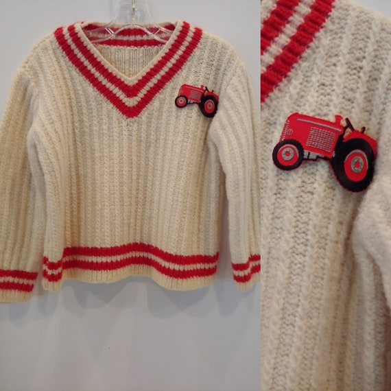 Vintage childs letterman sweater